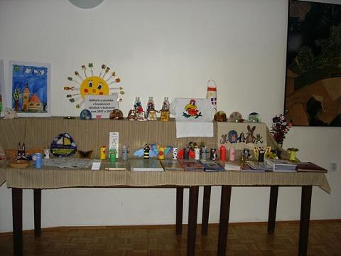 Výstava z dílniček